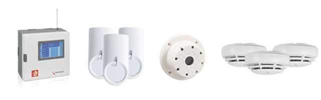 Telenot Protectura Komponenten