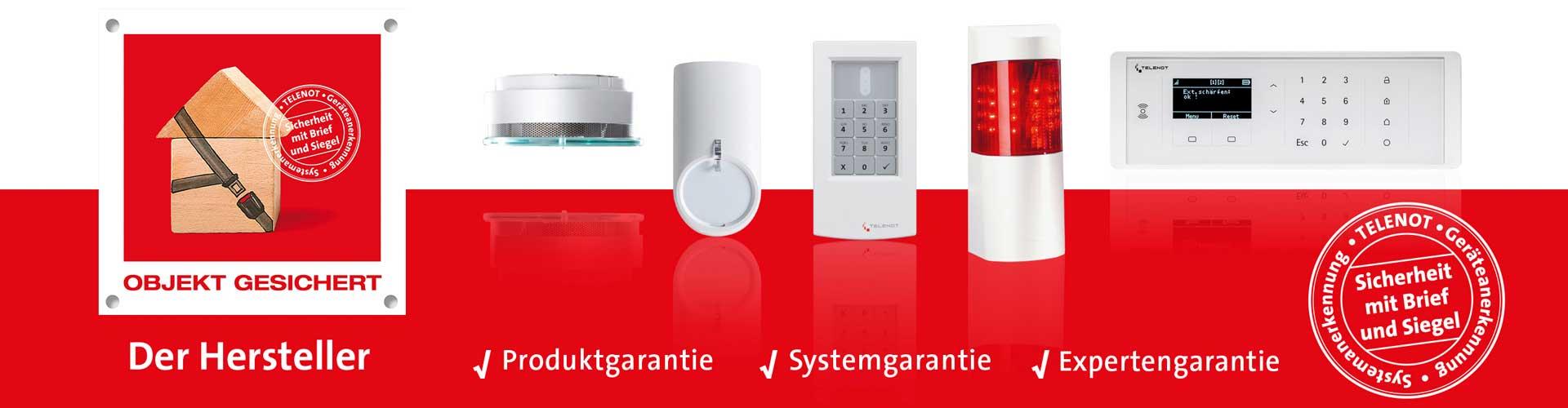 Protectura Partnerschaft Telenot VDS